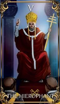 Resultado de imagem para the pope tarot