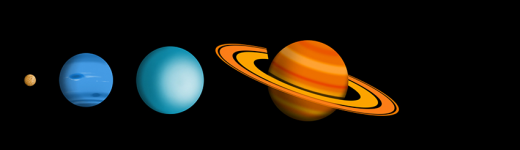 How to Understand Transit Periods of the Outer Planets