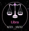 Libra 9/23-10/22